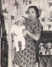 Mum and me, 1973