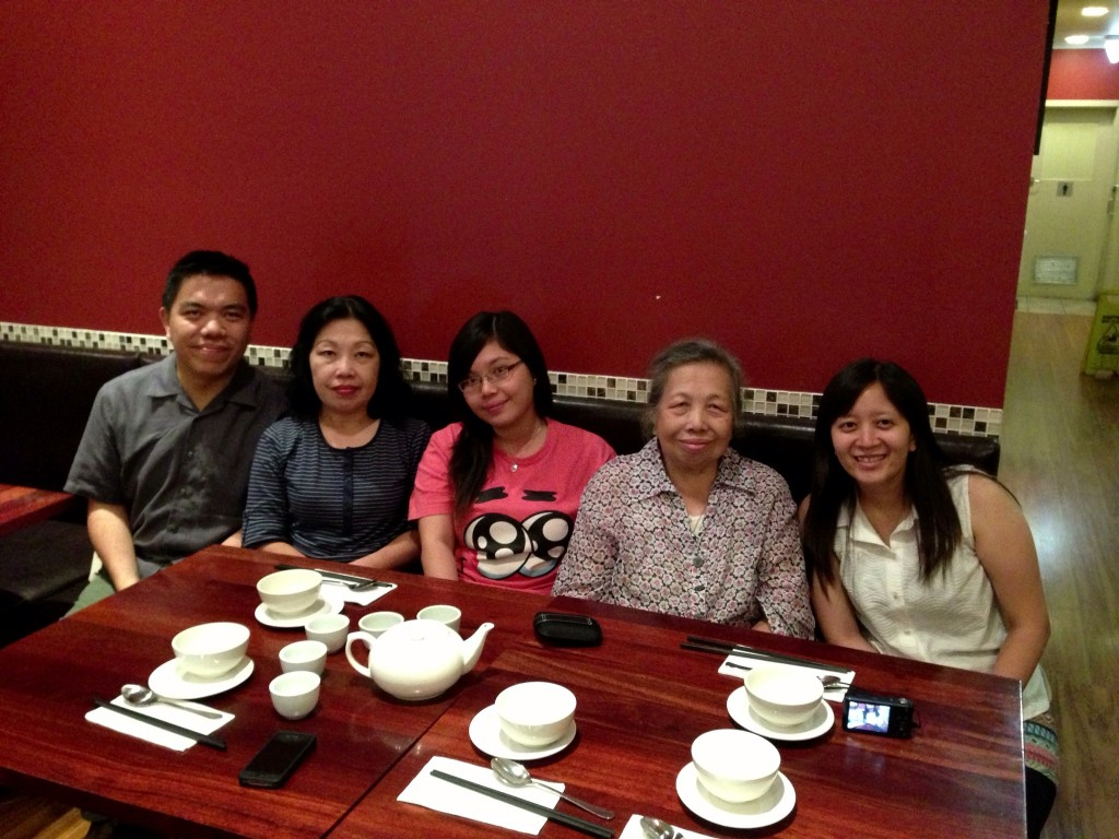 Ky Chow Restaurant, 12 March 2013