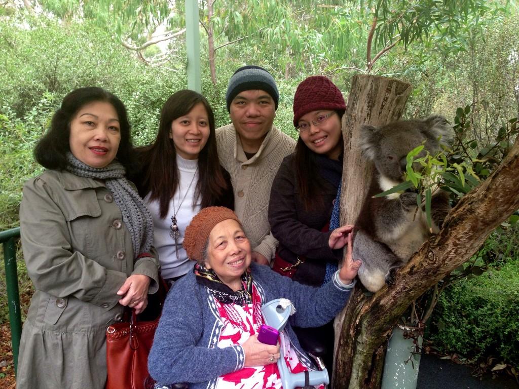 Cleland Wildlife Park, 1 April 2013